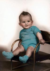 Vicente Fox de niño