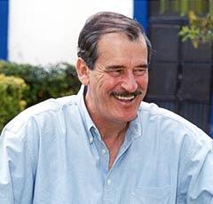 Vicente Fox en campaña