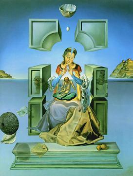 Salvador Dalí - Madona de Puerto Lligat