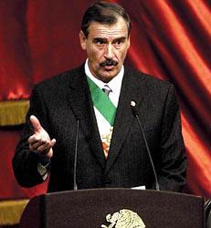 Vicente Fox - Ex-Presidente de México